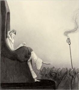 ALFRED KUBIN - THE LAST KING, 1902