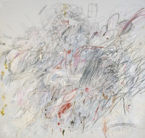 Leda and the Swan, 1962, Cy Twombly