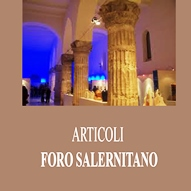 Articoli Foro Salernitano, Convegni, Altri articoli