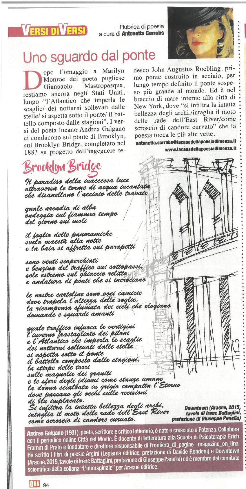 Andrea Galgano Archivi - Magazine online. A cura di Irene Battaglini ... 3d4d8cf95cfb
