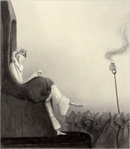 ALFRED KUBIN - THE LAST KING, 1902