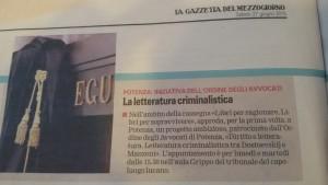 Gazzetta del Mezzogiorno, 27-06-2015